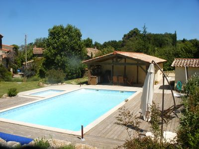Photo for 4BR Farmhouse Vacation Rental in Rivel, Occitanie