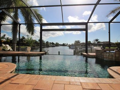 Photo for Luxury waterfront villa with stunning views & sailboat access