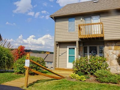 Photo for Deep Creek Village #17- 3 Bedroom Lake Access Townhome near Wisp Ski Resort