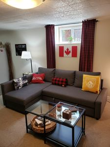 Photo for Cozy Canadiana Basement Apartment