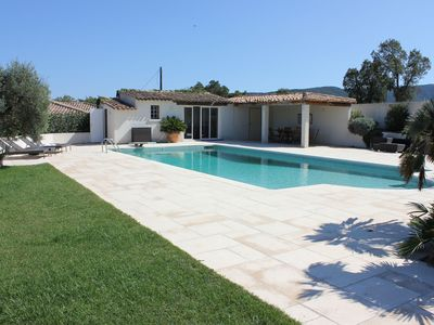 Photo for Stunning villa with private pool and panoramic views across the Mediterranean