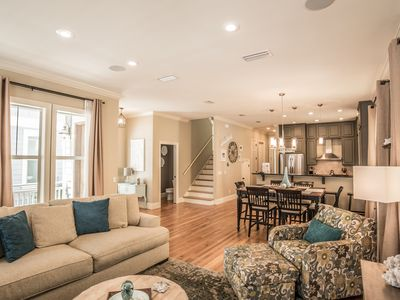 Photo for Emoceans, 30A Cottages, Reduced Spring Rates, Gorgeous Decor,Modern Kitchen,Carriage House, 4 Bikes!