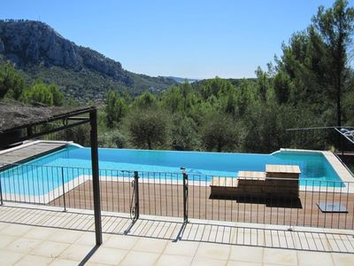 Photo for VERY NICE VILLA WITH MOUNTAIN / PANORAMIC SEA VIEW, SWIMMING POOL JACUZZI / 10 PERS.