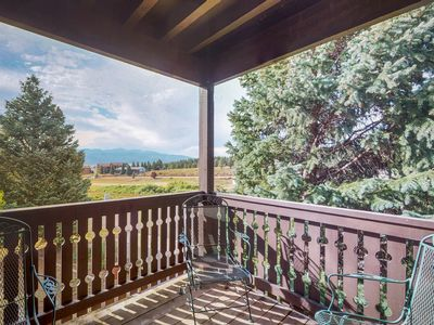 Photo for NEW LISTING! See Wheeler Peak from condo- close to Angel Fire, hiking & biking!