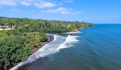 Photo for Hale Koa by the Beach | Oceanfront home with Pool at Honolii in Hilo Sleeps 6