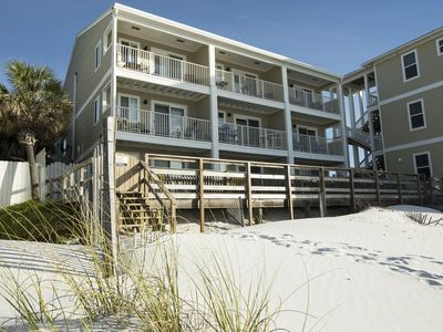 Photo for Paradise30A~Leeward II #5 ~ BEACHFRONT ~ Steps to the Beach! Close to Seaside!