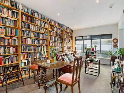 Photo for Comfortable Book Lined Space In Heart Of CBD