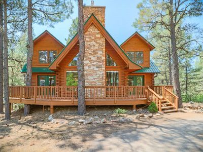 Photo for Log home nestled in Ponderosa Pines with access to the San Juan National Forest