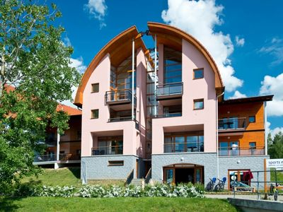 Photo for 6-8-person apartment in the holiday park Landal Marina Lipno - on the water/recreation lake