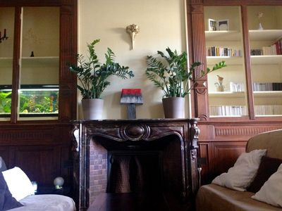 Photo for Beautiful spacious bourgeois apartment 110 m2 with terrace 50 m2 near SNCF station