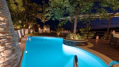 Photo for Aenaon Residence - Private Pool, Panoramic View, Delicate Elegance [5 peolple]