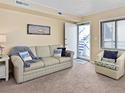 Photo for 1 Bedroom Bradley on the Bay Corner Unit Condo with Outdoor Pool!
