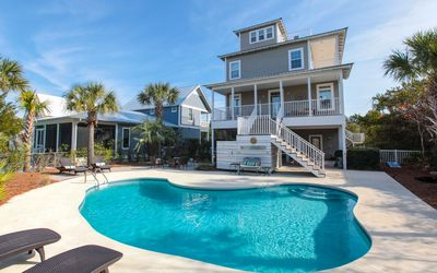 Photo for 'Blue Sky' South of 30A 4BR/4BA, Top Deck w/ Gulf View, Steps to Beach, Pool