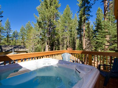 Photo for Large Luxury Tahoe Home with Private Hot Tub (ST34)