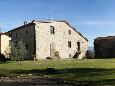 Photo for Beautiful Countryhouse In Tuscany, In A Panoramic Hill Near Anghiari, Arezzo