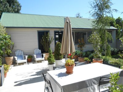 Gracemere Garden Cottage viewed from the terrace