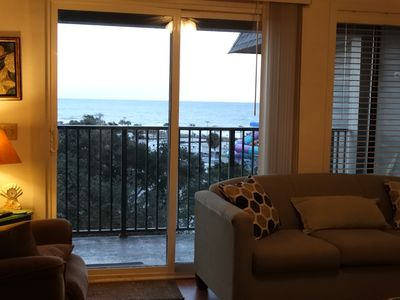 Photo for Spectacular Ocean View, Steps to beach, Fun Family Resort
