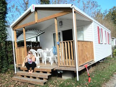 Photo for Camping Harrobia *** - Mobile Home 3 Rooms 4 People