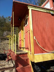 Authentic Caboose Offers Unique Experience