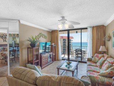 Photo for Gulf View Two Bedroom On Quiet East End - Free Beach Service - Master on Gulf - Free WiFi