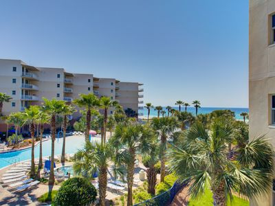 Photo for SUPER SPRING VALUE!!!  Waterscape B312 ~ Beach/Pool Views ~ 2 King Suites + Bunkroom ~ Beach Service