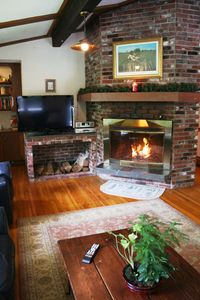 Photo for Birch Retreat - quiet mountain views, AC, jet tub, deck, sauna, grill, fireplace