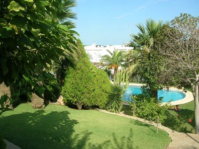 Photo for House Cueva Del Lobo, Tropical Gardens, Pool And Sea Views, Near Beach & Bars