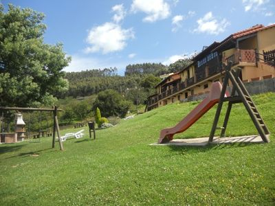 Photo for 1BR Apartment Vacation Rental in Soto del Barco, Asturias