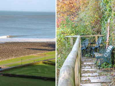 Photo for BAY VIEW HOUSE, family friendly, with a garden in Lynmouth, Ref 22126