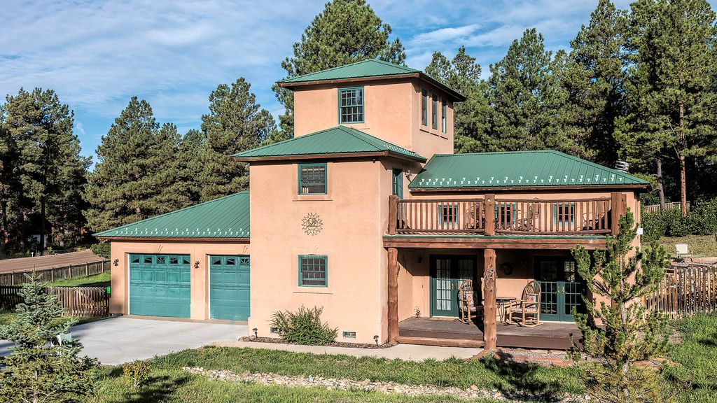 Pagosa Springs Pueblo Quiet Secluded Mountain Home