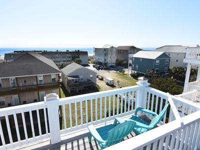 Photo for Carolina Dreamin' - 4 Bedroom Ocean & Sound View Duplex Sleeps 8