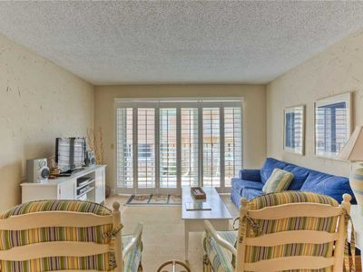 Photo for Visit St Simons Island! Oceanfront and Family Friendly Condominium with Pool, Beach Access