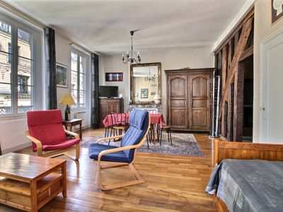 Photo for Paris apartment rental  1st arrondissement at a few steps of Louvre Museum