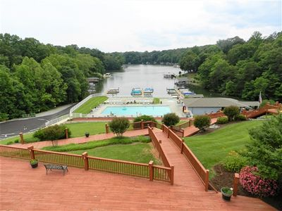 Photo for Condo, Wide Cove Views, Pool, Linens Included, WiFi, Near Westlake and Bridgewater Plaza, Couples