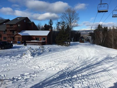 Photo for Family Friendly Ski In Ski Out Sugarloaf Condo @ Snubber Trail Mid Station on Mt