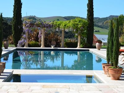 Photo for Beautiful Pool Side Tuscany Setting!!