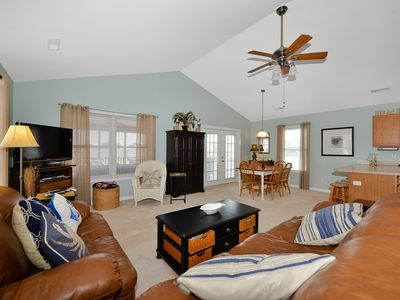 Photo for Beautiful 3 BR 2 BA Home in Ocean City; Huge Screened Porch & Multiple Pools!