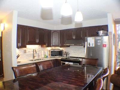 Photo for Truly Ski In - Ski Out Condo - Pet Friendly - Newly Renovated Kitchen