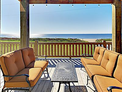 Photo for Brand-New Gulf-View Home w/ Upscale Decor & Beautiful Decks -- 200' to Beach!