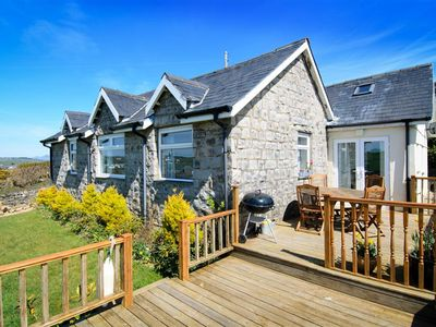 Photo for Enjoy a rural location next to a working farm yet within a short drive of Abersoch village and the b