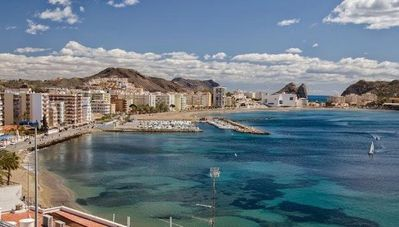 Photo for Playa Delicias, located next to the yacht club at 0. 8km from the center of Águilas. WIFI