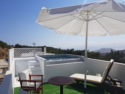 Photo for A beautiful villa situated very close to village of Lefkes inside the forest !!!