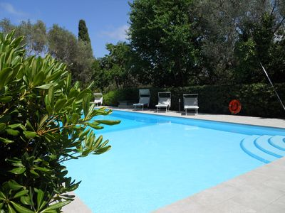 Photo for Luxury house in Villa in Mondello-Palermo with pool and garden