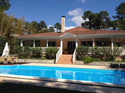 Photo for Luxury 4 bedroom villa with private pool on golf