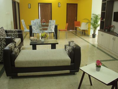 Photo for DivBnB : Entire 3 BHK home in whitefiled