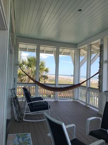 Turtle Watch Beach Front house:   Hear the ocean sing!