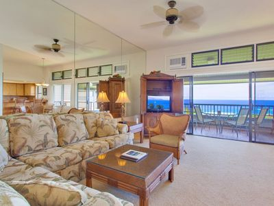 Photo for Enjoy a Mai Tai on your private lanai and watch the whales at play!