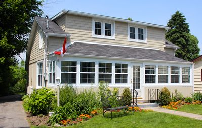 Photo for Cape Cod style home in the heart of the lakeside village of Wellington