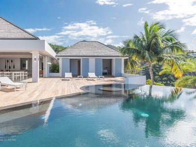 Villa Coco  -  Beach View - Located in  Tropical Lorient Beach with Private Pool