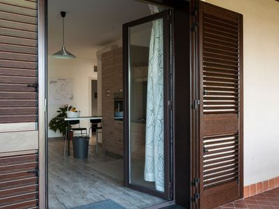 Photo for Villa Ginevra second unit apartment with swimming pool wifi free parking